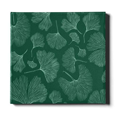 XINLU Decoración de Arte de Pared 20x24 Pulgadas (50x60 cm) Moda Ginseng Natural Hierbas medicinales Baño Arte de la Pared Lienzo Pintura Decorativa Adecuado para la decoración del hogar