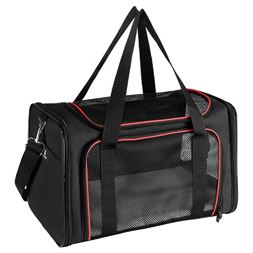 X-ZONE PET Airline Approved Pet Carriers,Soft Sided Collapsible Pet Travel Carrier