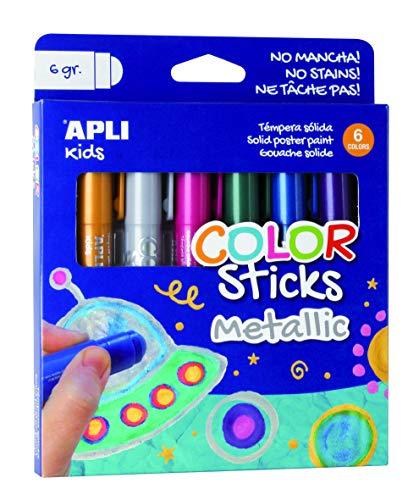 Apli Kids Témpera sólida, Multicolor (14405) , Modelos/colores Surtidos, 1 Unidad
