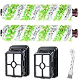 2 cepillos multisuperficie + 2 filtros para Bissell Crosswave 17132 y 2225N Series de repuesto
