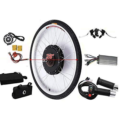WUPYI2018 E-Bike Conversion Kit, 28 Inch Electric Bicycle Conversion Kit, E-Bike Conversion Kit, Rear Wheel