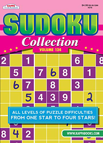 Compare Textbook Prices for Sudoku Collection Puzzle Book - Volume 124  ISBN 9781559936163 by Kappa Books Publishers