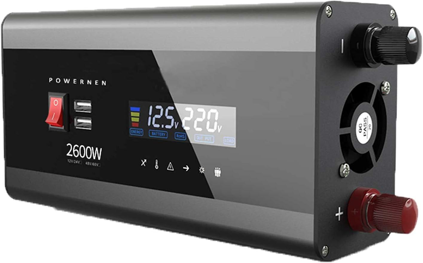 FDQNDXF Solar 2021 autumn and winter new Inverters 2600W Ranking TOP11 3200W 4000W DC to 48V 24V 60V 12V