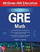 McGraw-Hill Education Conquering GRE Math, 4th Edition Front Cover