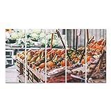 Bild Bilder auf Leinwand Frisches Obst und Gemüse Ballaro,