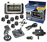 TST 507 Series 8 RV Cap Sensor Tire Pressure Monitoring System Color Display and Repeater with Dash & Suction Mount
