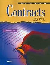 Black Letter Outline on Contracts (Black Letter Outlines)