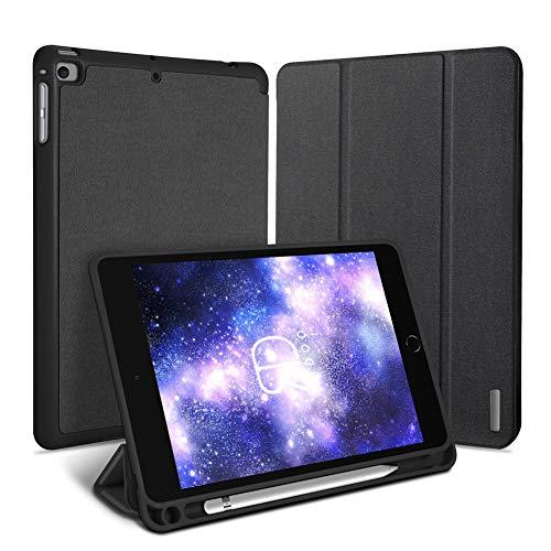Radoo Coque pour iPad Mini 4,Smart Housse Étui Folio de Protection avec Support et Mise en Veille Automatique pour Apple iPad Mini 4 (Noir)