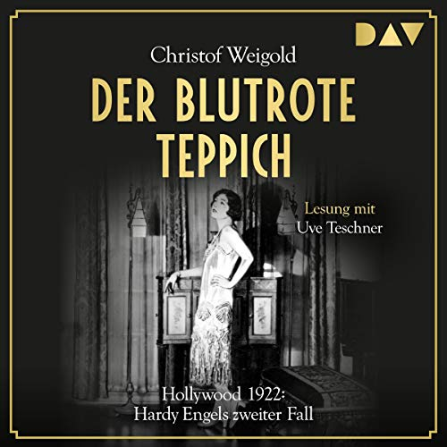 Der blutrote Teppich - Hollywood 1922 cover art