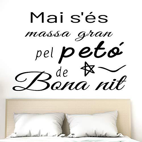 Docliick® Vinilo Frase Catalán