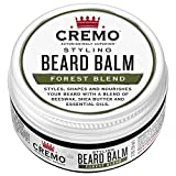 Cremo Styling Beard Balm,  Forest Blend -- Nourishes,...