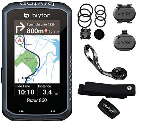BRYTON(ブライトン) RIDER860T GPS サイクルコンピューター トリプルセット(ケイデンス・スピード・心拍セ...