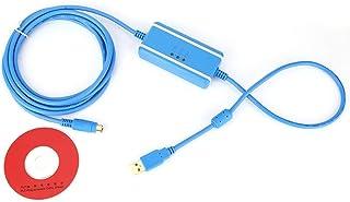 Cable de Programación USB Fit Disco Compacto de 3m Para Mitsubishi PLC Serie FX Cable de descarga de Datos de Comunicación...