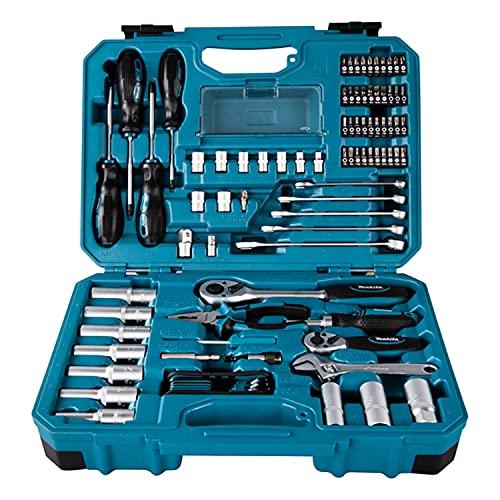 Makita E-08458 Juego de mecánica de 87 piezas