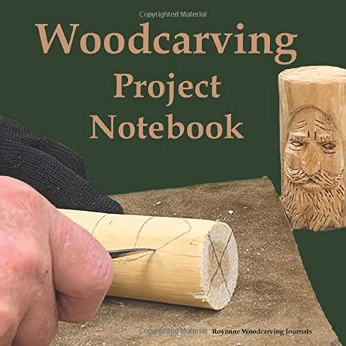 Woodcarving Project Notebook: Tree Spirit Cover - A Journal for 15 Wood Carving Projects - Each Project has 7 Pages to Document Wood, Tools, Carving ... Techniques, Notes and Competition Entry