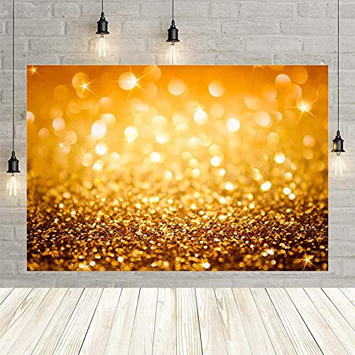 Navidad Brillo Estrellas Punto Dorado Boda cumpleaños Fiesta Baby Shower decoración telón de Fondo Estudio fotográfico Personalizado Vinyl-250x180cm