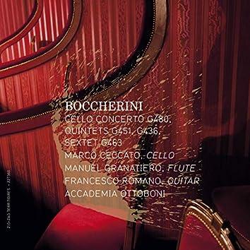 Boccherini: Cello Concerto, G. 480, Quintets, G. 451 & 436 & Sextet, G. 463
