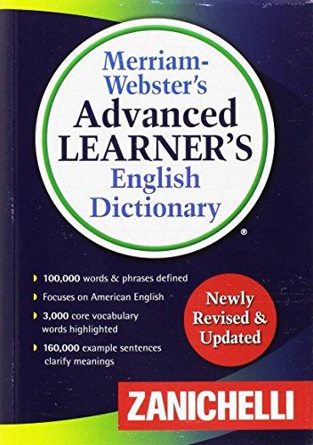 Merriam-Webster's Advanced Learners's English Dictionary. Seconda Edizione [Lingua inglese]