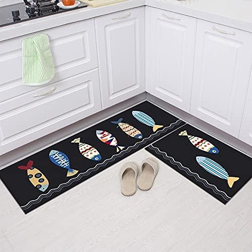 Tappetino da cucina, armadio, scarpiera, tappetino decorativo, tappeto antiscivolo bagno, lavabile...