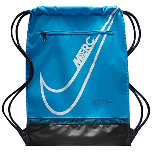 Nike Polyester 0 cms Blue Hero/Obsidian/White Gym Shoulder Bag (BA6108-486)