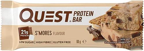 Quest Nutrition Questbars Protéines 12 Barres S'Mores