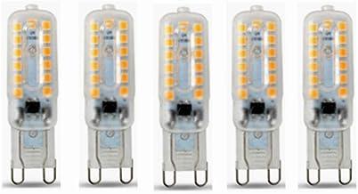 Led Bulbs, G9 LED Bulb - 5W/400LM, 40 Watt Halogen Bulbs Equivalent, 32LED 2835SMD, 3000/6000K, Energy Saving G9 Bulbs, 36...