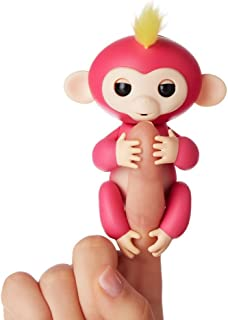 Fingerlings – Interactive Baby Monkey – Bella (ピンクwith Yellow Hair )