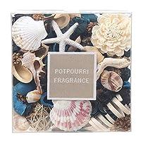Qingbei Rina ポプリ 香り袋 海 インテリア 飾り ホームフレグランス 手作り ギフト プレゼント 家庭用(ブルー)