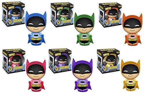 Batman Azules Aniversario 75a, púrpura, Naranja, Amarillo