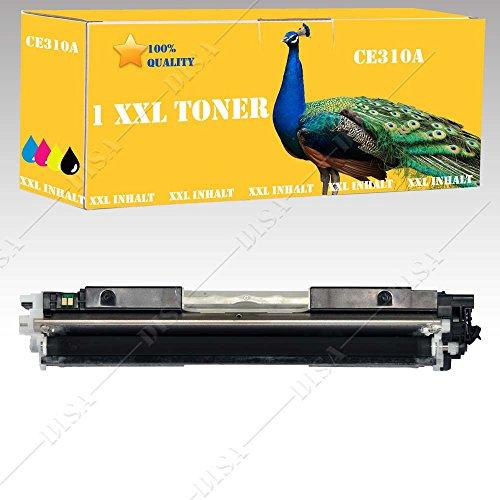 4x Toner Compatible con HP CE310A Negro, Cian Amarillo Magenta HP LaserJet CP1025/Cp1025NW Color
