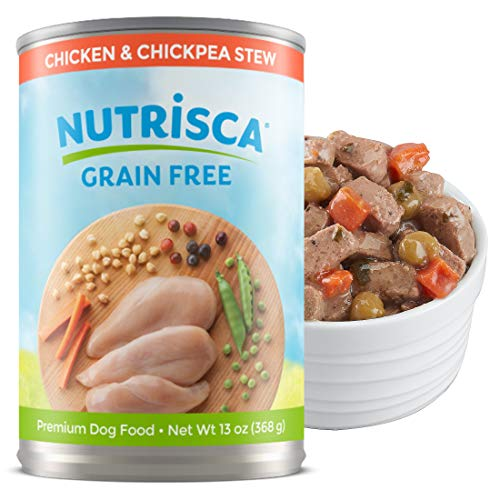 Nutrisca Grain-Free Chicken & Chickpea Stew