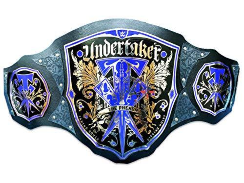 WWE The Phenom Undertaker Championship Thick Leather Belt Adult Size (Replica)