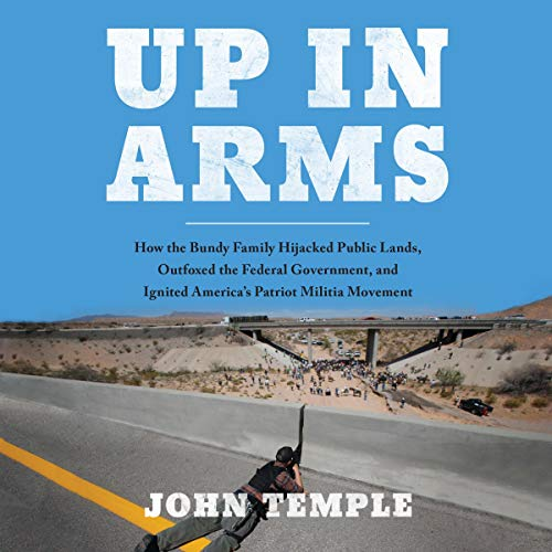 Up in Arms audiobook cover art