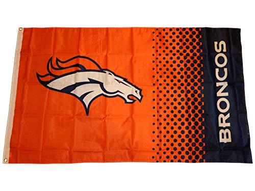Forever Collectibles Denver Broncos Fahne NFL Fade Flag orange Fanartikel Supporter Flagge