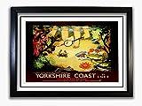 Yorkshire Coast #4 gerahmtes Poster mit
