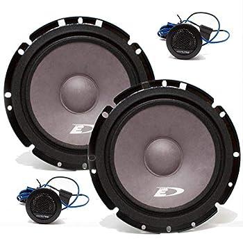 Alpine SXE-1751S 6.5  280 Watt Car Audio Component Speakers