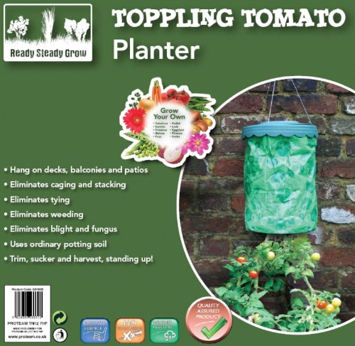 Proteam GH1035 Ready Steady Grow Your Own Toppling Tomato Planter