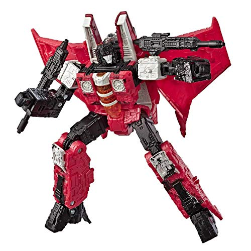 Transformers Toys Generations Selects War for Cybertron Voyager WFC-GS02 Redwing Action Figure - Siege Chapter - Adults & Kids A