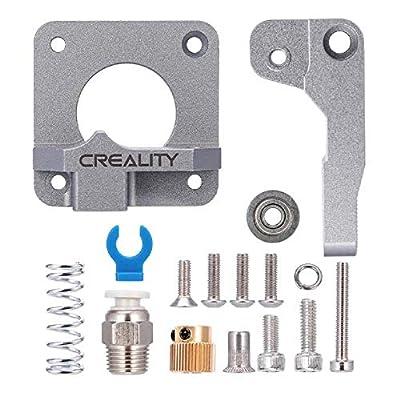 Creality Upgrade Aluminum Parts MK8 Extruder Alloy Block Bowden Extruder 1.75mm Filament for Ender3/Pro, Ender5/Plus, CR-10S Pro, CR-10 V2