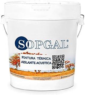 comprar comparacion Pintura Aislante Térmica y Acústica para Interiores - Sopgal (15 litros, blanco)