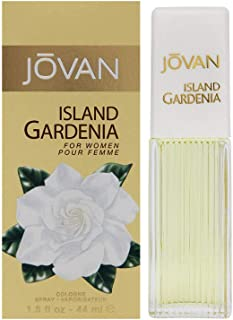 Jovan Island Gardenia For Women Cologne Spray 1.5 Ounce