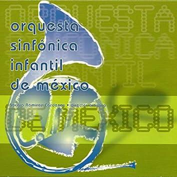 Orquesta Sinfónica Infantil de Méxicio: Márquez, Moncayo, Chávez, Ginastera