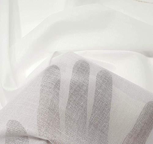 (2mts) Fliselina entretela termoadhesiva fina coor blanco de tela