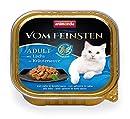 animonda Vom Feinsten Adult Katzenfutter, Nassfutter für ausgewachsene Katzen, mit Lachs in Kräutersauce, 32 x 100 g