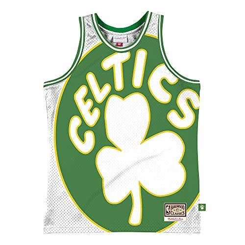 Mitchell & Ness NBA Blown Out - Camiseta de manga corta, diseño...