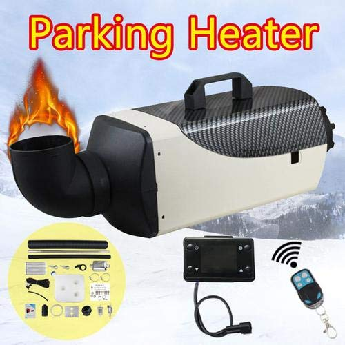 Haodene Standheizung Diesel Luftheizung 5kw 12 V Auto Luftwärmepumpe Mit Fernbedienung LCD Monitor Für RV, Wohnmobilanhänger, LKW, Boote
