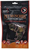 PET MUNCHIES - Salmon Skin Chews Mediano, 0.1KG