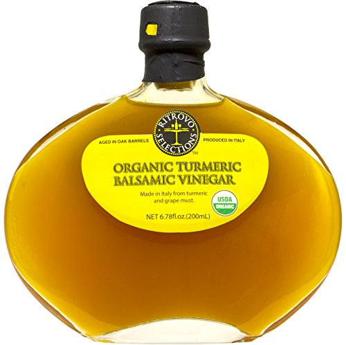 Ritrovo Selections Organic Turmeric Balsamic Vinegar