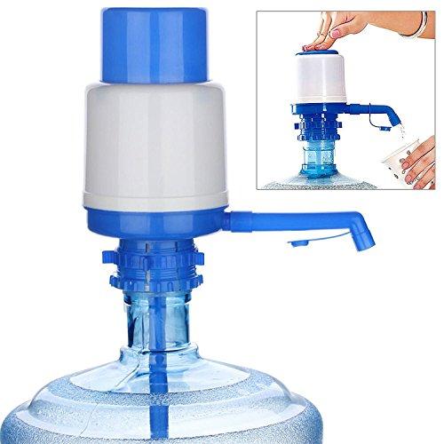 MovilCom - Dispensador Agua para garrafas | Dosificador Agua garrafas Compatible con garrafas de 5, 10 y 20 litros | Grifo Botella Agua 5 litros | garrafas diámetro 55mm