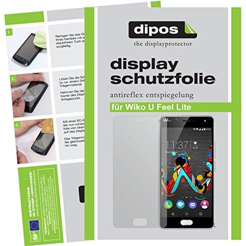 dipos I 6X Schutzfolie matt kompatibel mit Wiko U Feel Lite Folie Bildschirmschutzfolie
